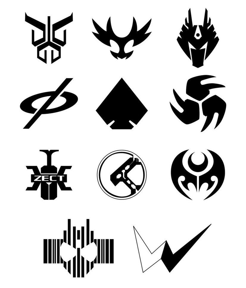 Kamen Rider Dragon Knight Dragon Symbol